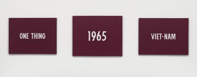 , 'Title,' 1965, Guggenheim Museum