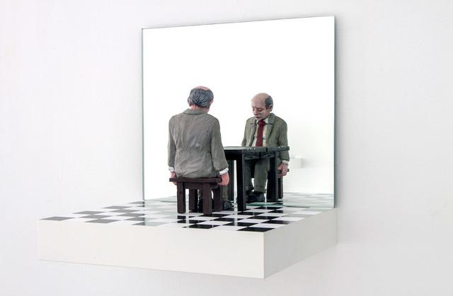 Isaac Cordal, 'Friend Request', 2019, Galerie C.O.A
