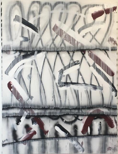 Nano Rubio, 'Deep Veil', 2017, Painting, Acrylic and Spray Paint on Canvas, Tufenkian Fine Arts