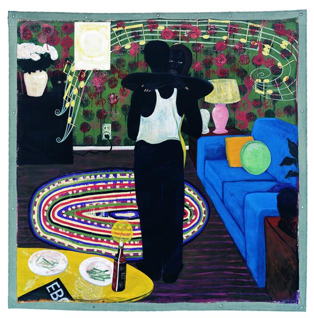 Kerry James Marshall, 'Slow Dance', 1992-1993, MCA Chicago