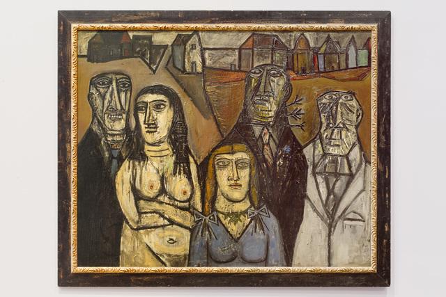 , 'Degenerates,,' 1957, Queens Museum