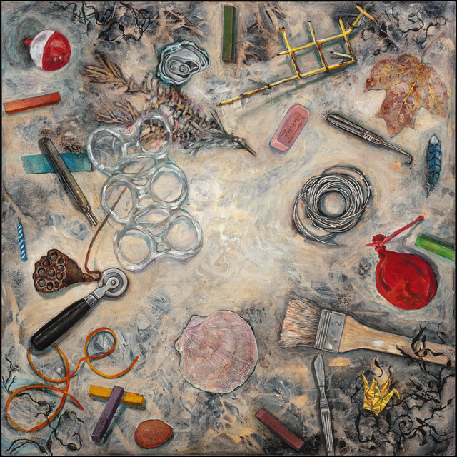, 'Midden VII, Pink Pearl,' 2012, Clark Gallery