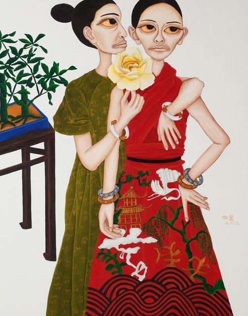 , 'Portrait of Beauties - Whisper,' 2012, Galerie Grand Siecle