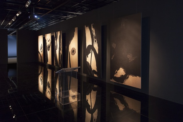 ", 'Installation view, ""Pan Gongkai and Clifford Ross: Alternate View"" at Zhejiang Art Museum,' , Zhejiang Art Museum"