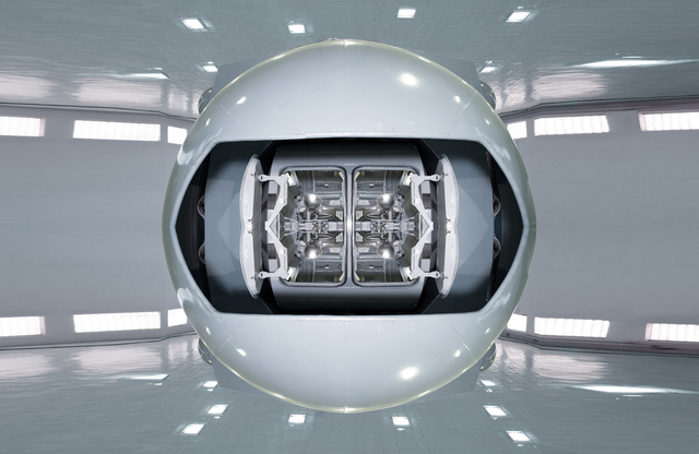 , 'gravitational rotator,' 2013, Benrubi Gallery