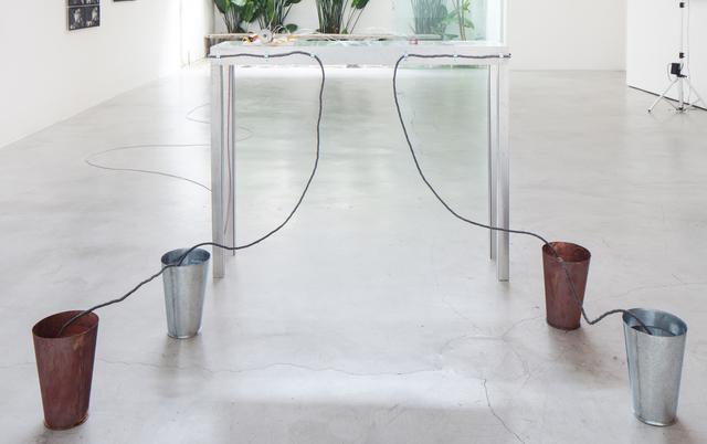 , 'Mesa de acesso (access table) ,' 2017, Zipper Galeria