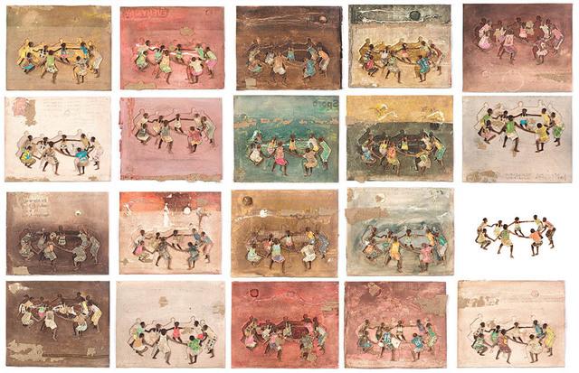 , 'Kirizenze (each rectangle is an individual piece),' 2017, Eclectica Galleries