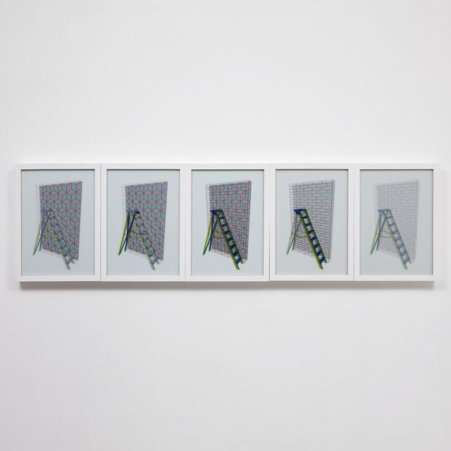 Rommulo Vieira Conceição, 'Em caso de embate, ampare com o confronto - Escada', 2014, Carbono Galeria