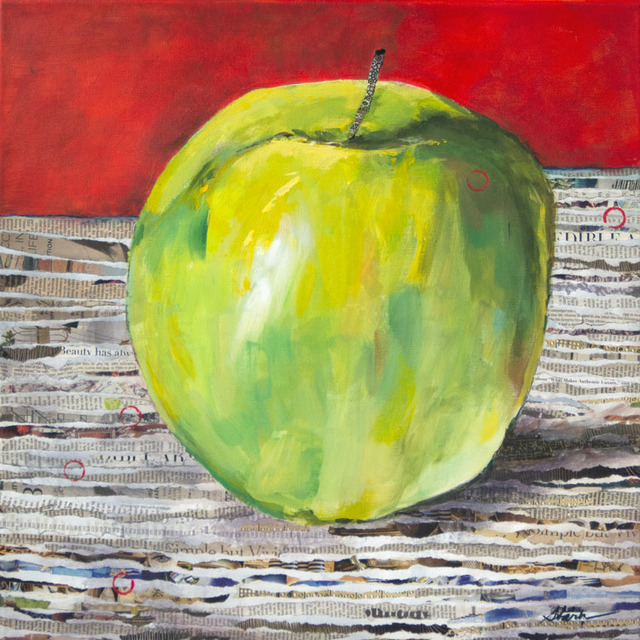 Cathy Stark, 'The Big Apple', 2019, {9} The Gallery