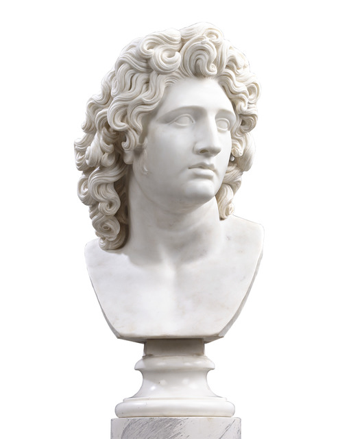 , 'Bust Of Alexander The Great,' Late 18th Century, M.S. Rau Antiques