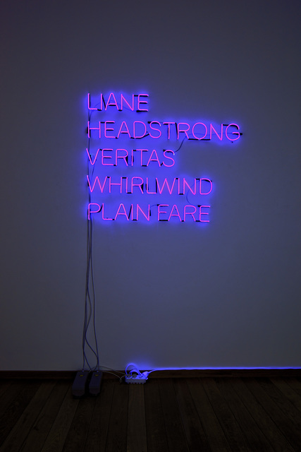 Olaf Nicolai, 'LIANE, HEADSTRONG, VERITAS, WHIRLWIND, PLAN FARE', 2006, Galerie Sabine Knust   Knust Kunz Gallery Editions