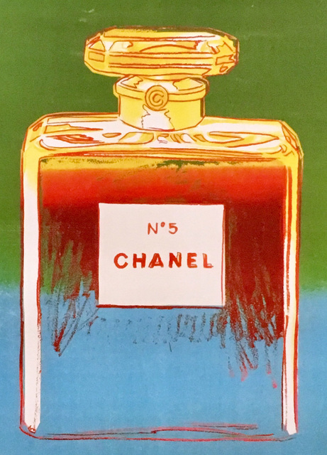 Andy Warhol, 'Chanel No. 5 Advertising Campaign Poster', 1997, Lot 180