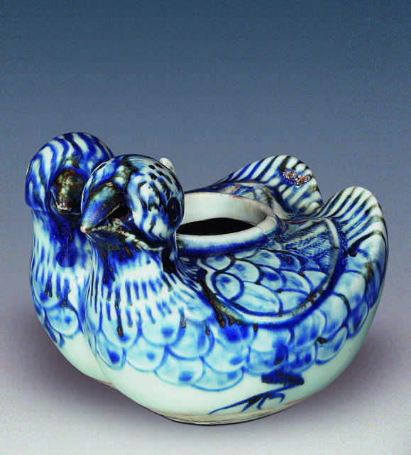 , 'Pouring vessel in the shape of mandarin ducks,' Ming-Hongzhi, Art Museum of the Chinese University of Hong Kong