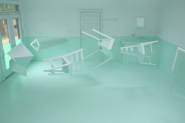 , 'Green House 2,' 2012, salon de H