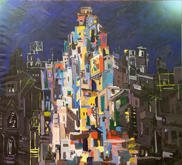 , 'Cairo Buildings,' 2010, Easel & Camera Contemporary Art Gallery