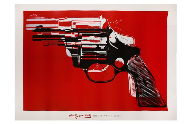 Andy Warhol, 'Gun - The Warhol Collection', 1981, Print, Giclée print, Chiswick Auctions