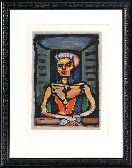 Georges Rouault, 'Veille Courtisane', 1928, RoGallery