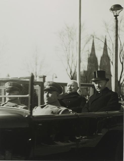 , 'President von Hindenburg and Mayor Konrad Adenauer,' 1926, Galerie Julian Sander