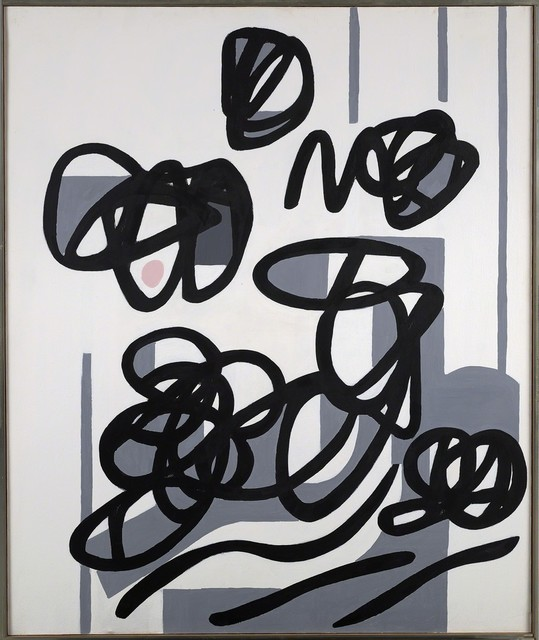 Raymond Hendler, 'Serious and Judicious', 1976, Painting, Acrylic on canvas, Berry Campbell Gallery