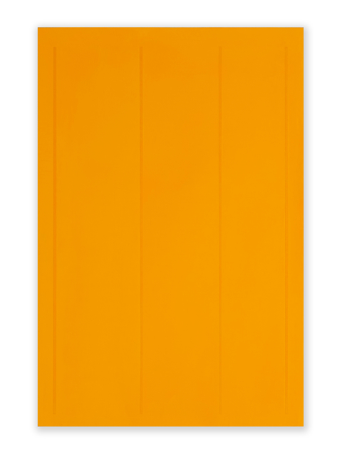 Jeff Kellar, 'Lined Space Orange 3', 2019, Richard Levy Gallery