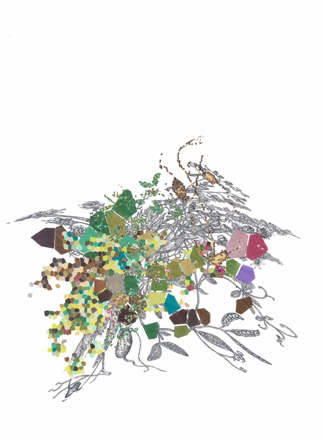 , 'Lathlavasempdactyrusndulerviyloravumhiza tubestoetectmacurosuchasorumlatas L.,' 2013, Ruiz-Healy Art