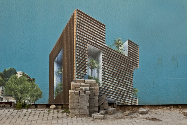 , 'The Selective Residence,' 2013, The Sursock Museum