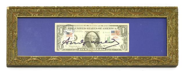 Andy Warhol, 'Dollar Bill', Sworders
