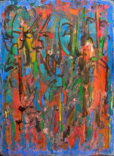 , 'Forest Faces,' 1997, Greenhut Galleries