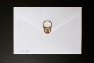 Garcia De Marina, 'Envelope and Pop Can Tab', 2016, Gallery 133