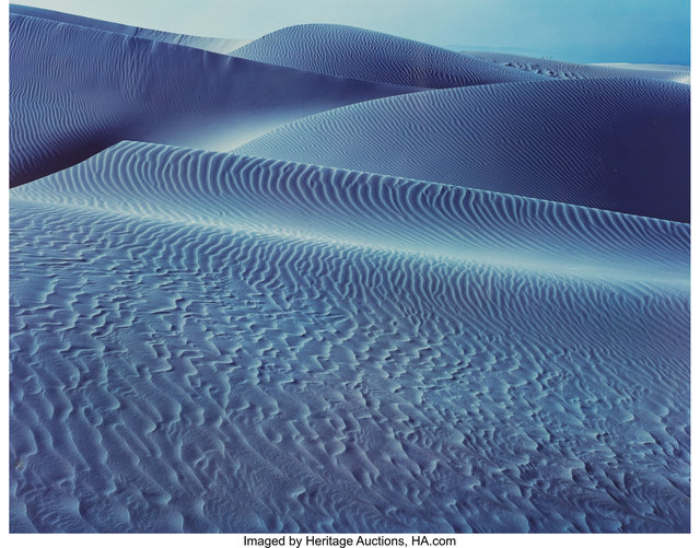 Edward Weston, 'Blue Dune, Oceano', 1948, Heritage Auctions