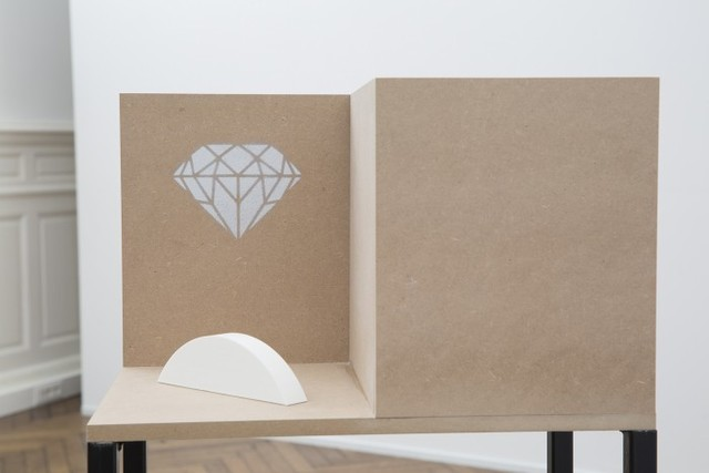 , 'Composition III (Diamond),' 2014, Ani Molnár Gallery