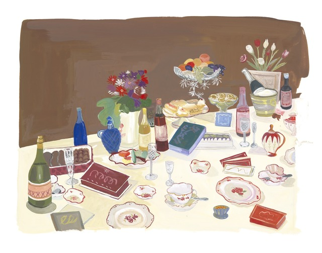 Maira Kalman, 'Champagne and Chocolate Party', 2013, BAM (Brooklyn Academy of Music) Benefit Auction
