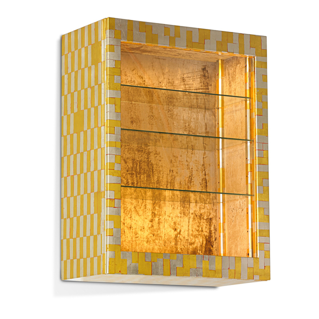 Phil Powell, 'Rare illuminated wall-hanging vitrine, New Hope, PA', 1960s, Rago