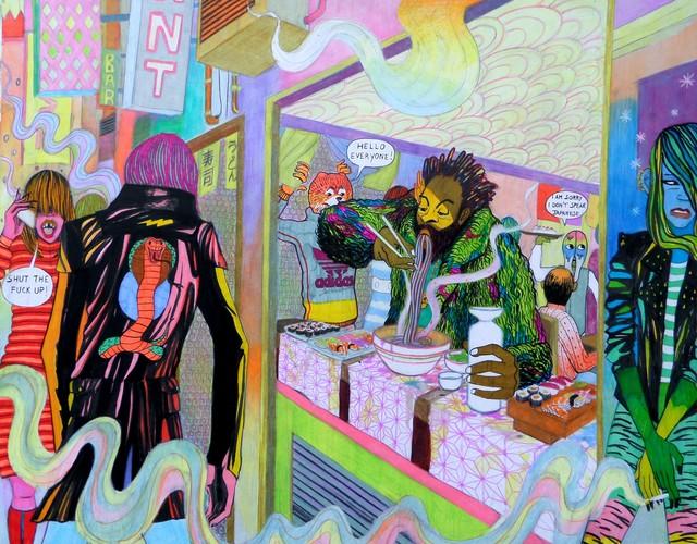 , 'Noodle Soup,' 2017, Alessandro Berni Gallery