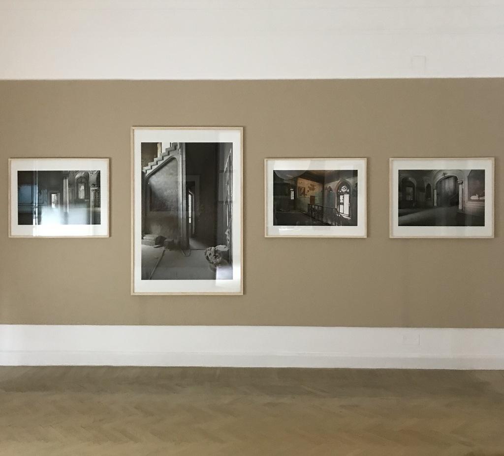 Install view, Xenia Nikolskaya 'DUST: Past & Present', 2020