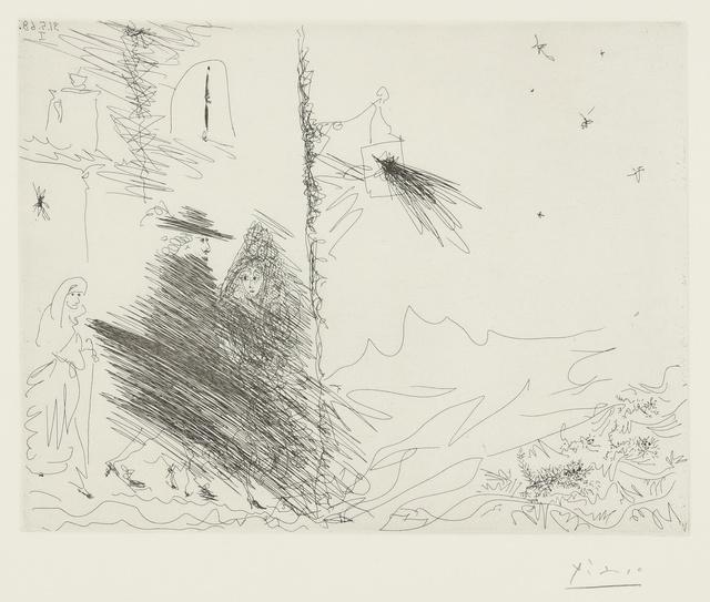 Pablo Picasso, 'Calixte et Mélibée au verger de plebére (B. 1611; Ba. 1627)', 1968, Print, Etching, Sotheby's