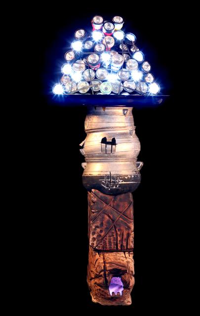 , 'Les Démasqués des cinq continents -  Europe,' 2007, Galerie Galea