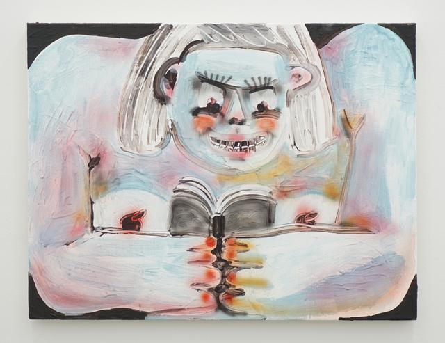 , 'Reading,' 2018, V1 Gallery