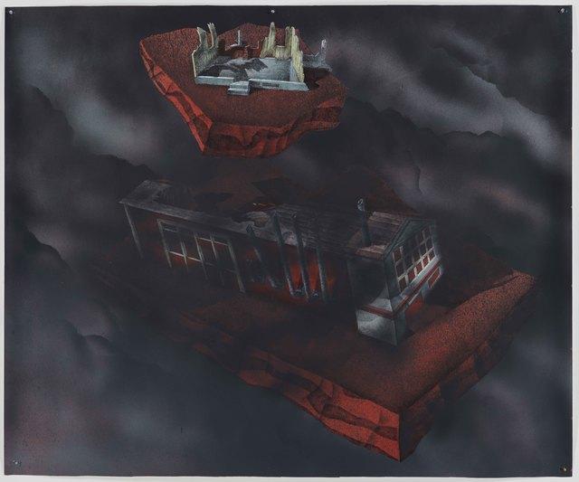 , 'Blind Pig City, Industry,' 2011, Galerie Nathalie Obadia