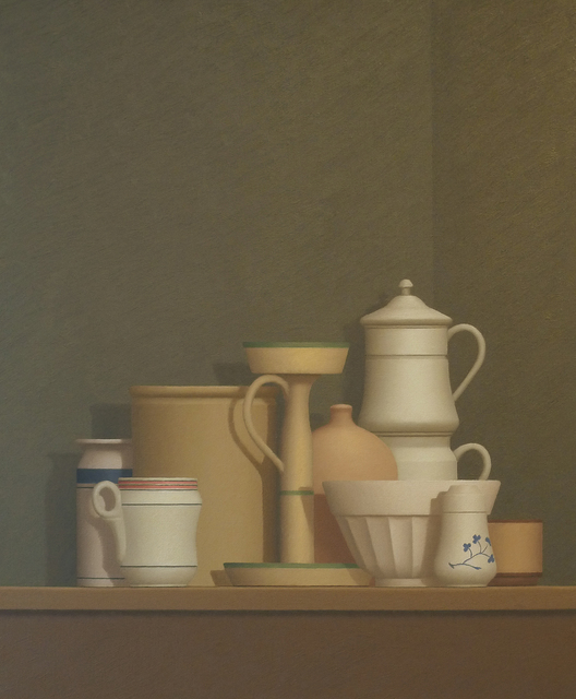 William Bailey, 'Still Life at Trovi', 1982, Painting, Oil on canvas, Nikola Rukaj Gallery
