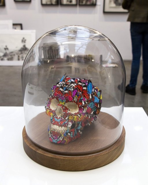 , '(GVA) Butterfly Skull,' 2018, ARTION GALLERIES