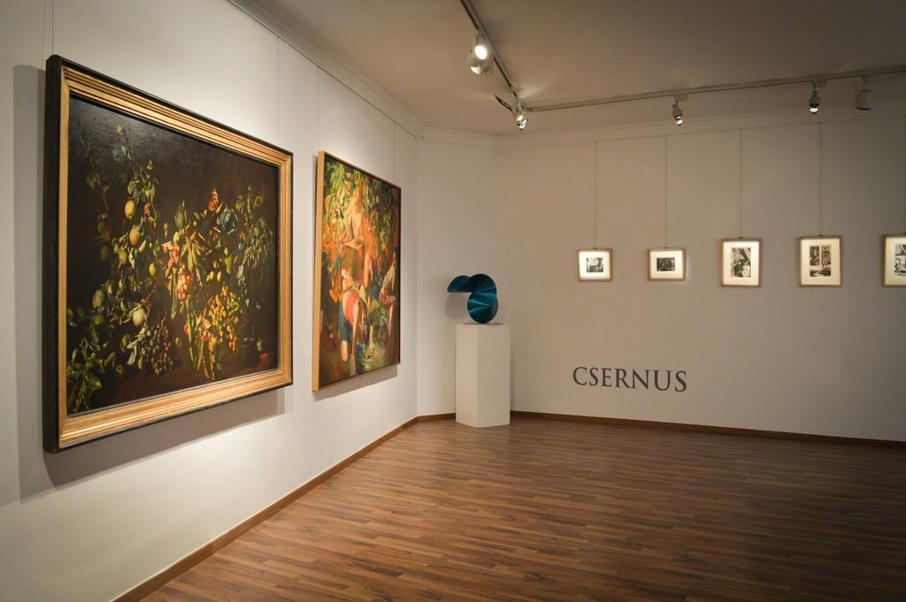 Tibor Csernus corner with illustrations of the Rouge et Noir
