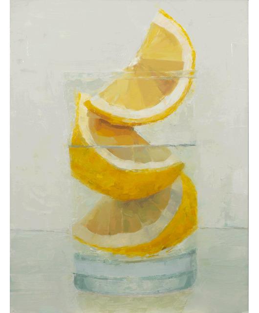 Tom Giesler, 'Floral 59: Meyer lemon', 2021, Painting, Oil on panel, McVarish Gallery
