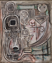 Untitled (Mandolin Abstraction)