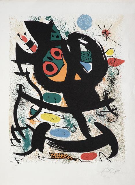 Joan Miró, 'Exhibition at the Pasadena Art Museum', 1969, Il Ponte