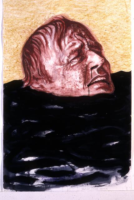 Robert Arneson, 'Gulf Drip', 1991, Brian Gross Fine Art