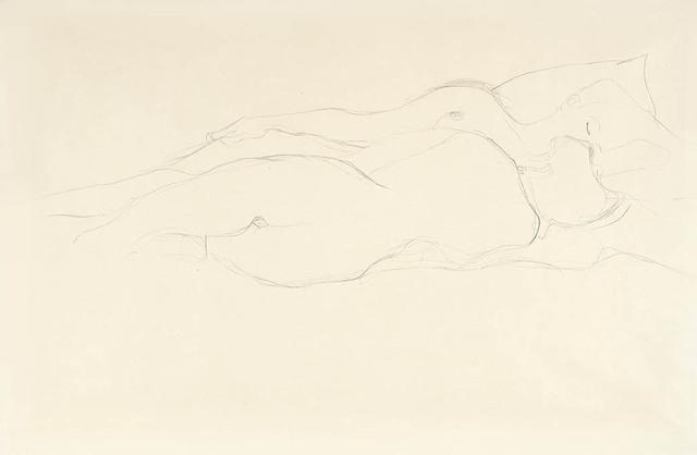 , 'Two Reclining Female Friends,' 1905-1906, Galerie Bei Der Albertina Zetter