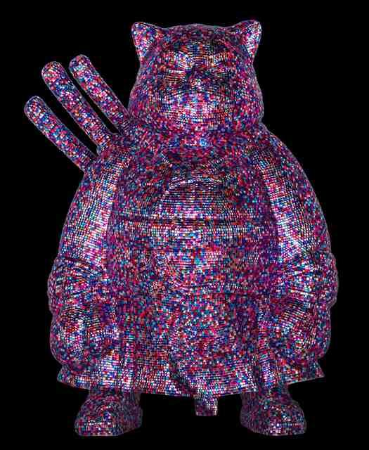 Hiro Ando, '**SAMURAICAT DIAMONDSTRASS,' 2006, Galerie Jacob Paulett
