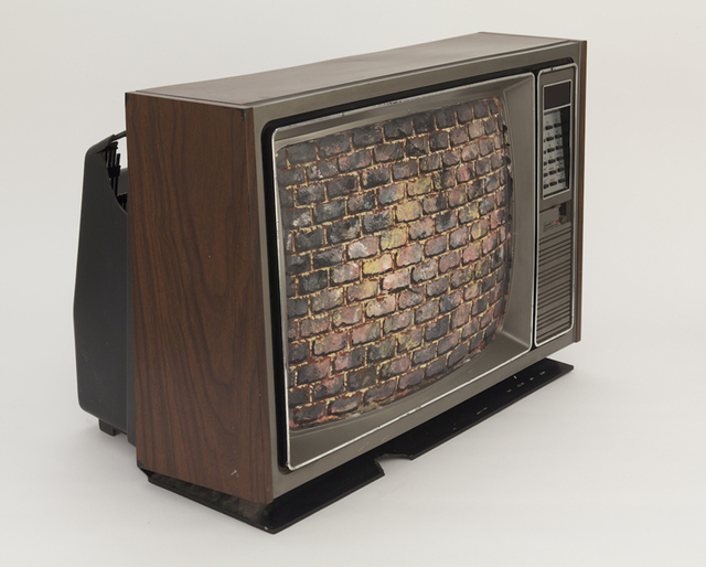 , 'Untitled (Brick TV),' 1983, P.P.O.W