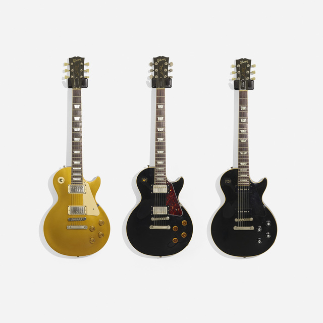 Gibson, 'Les Paul Electric Guitars, Set of Three', Wright